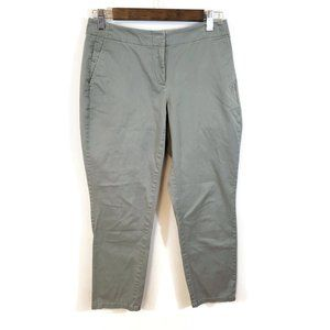JJill Womens Live In Chino Casual Pants Size 4P